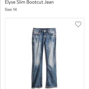 Silver Jeans size 14